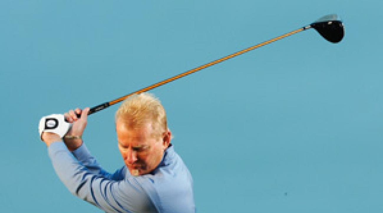 You'll avoid most of the errors that limit power when you eliminate your backswing.