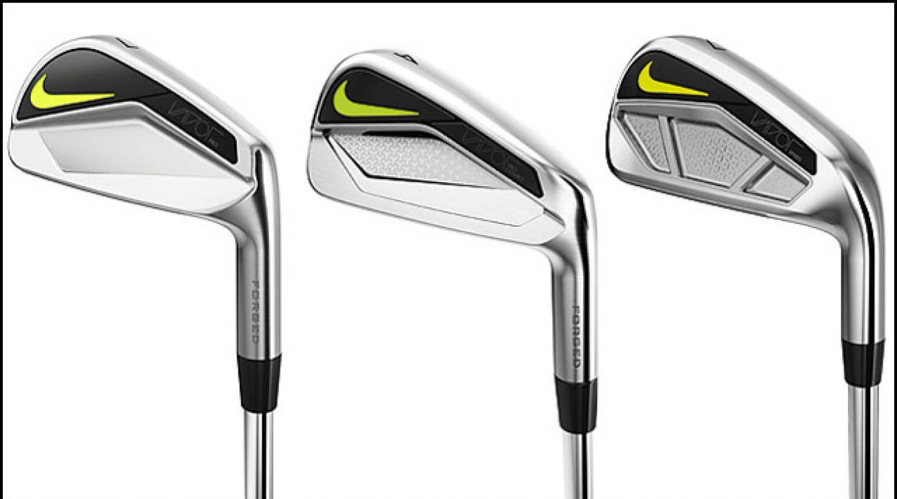 From left: Nike Vapor Pro Irons, Nike Vapor Pro Combo Irons, Nike Vapor Speed Irons.
