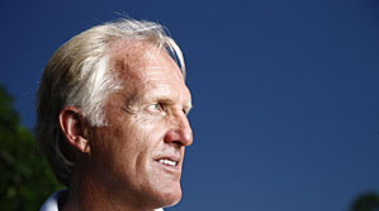 Greg Norman will captain the International team at the Presidents Cup in November.