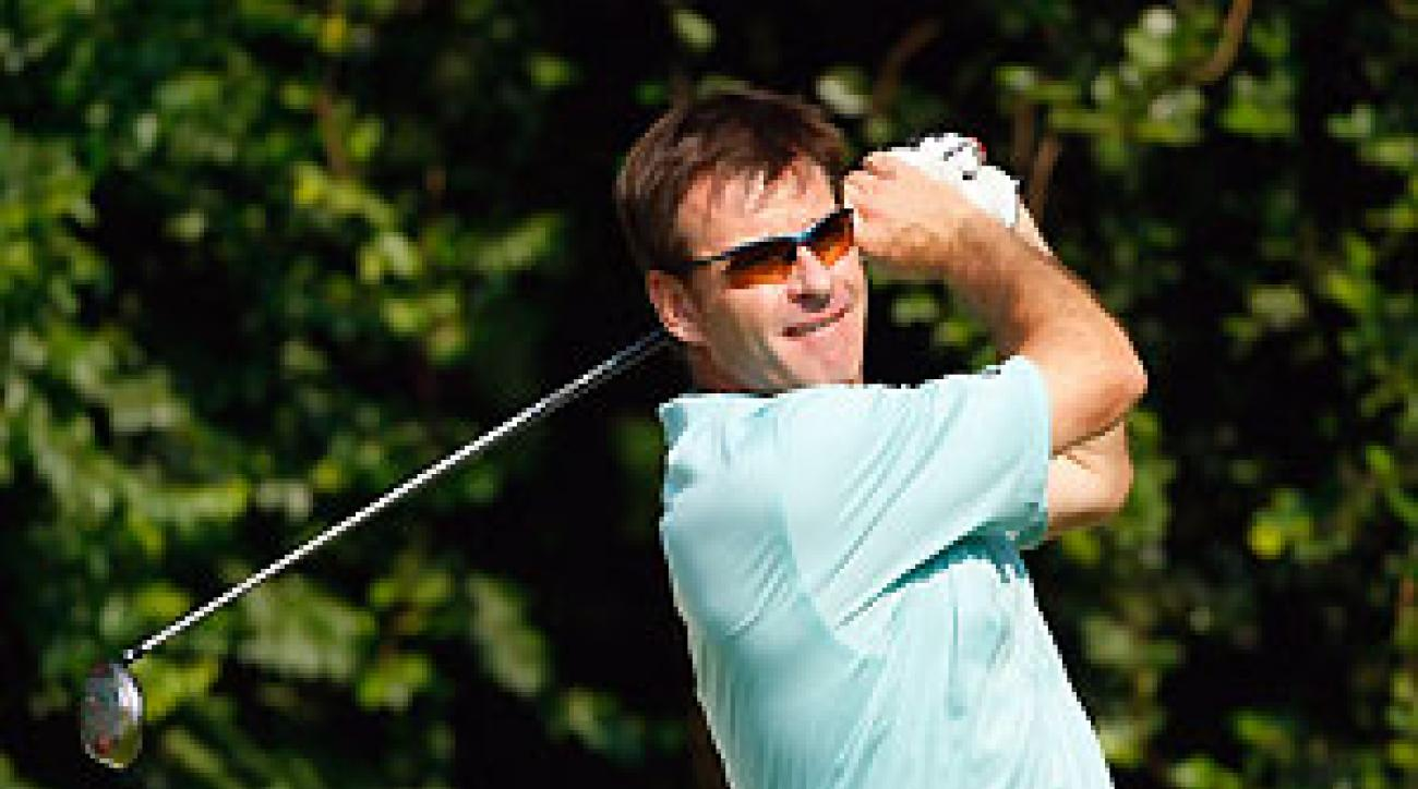 Nick Faldo will make a rare playing appearance this week in Hong Kong.