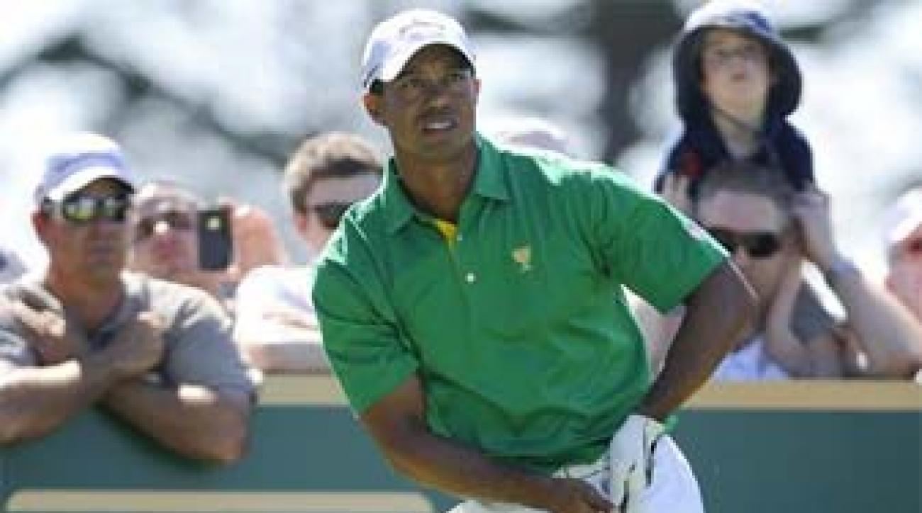 Tiger Woods had a perfect 5-0 record at the 2009 Presidents Cup, 4-0 when paired with Steve Stricker.