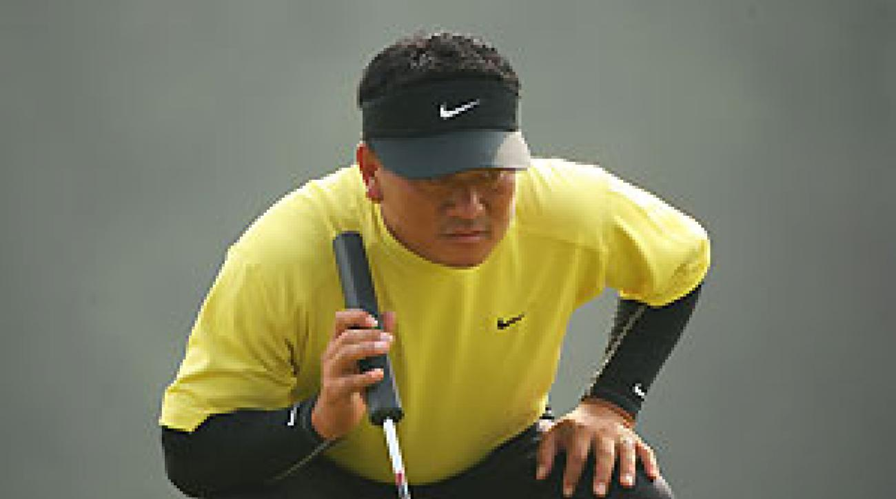 K.J. Choi finished second in 2005 at the Hong Kong Open.