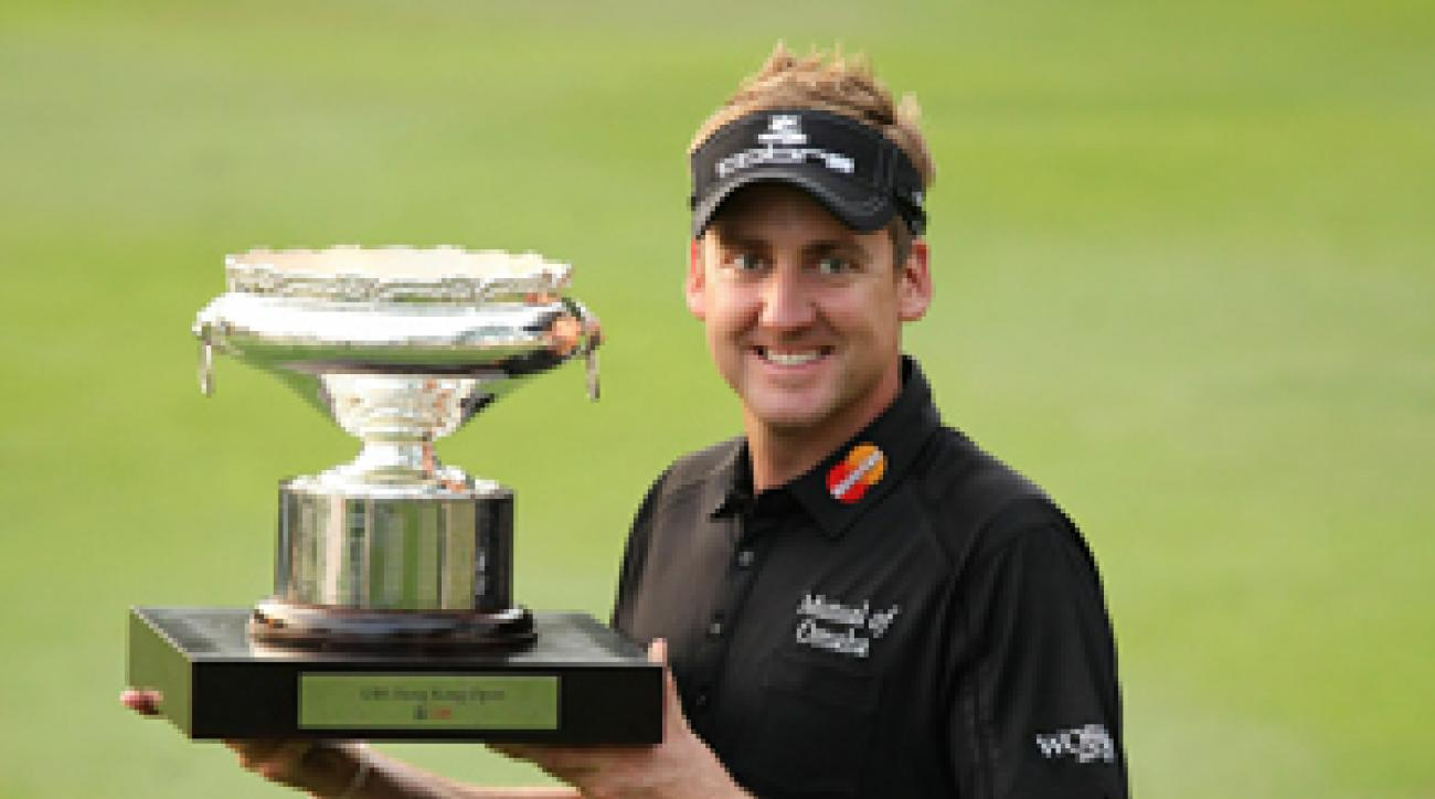 Ian Poulter won his 10th European title on Sunday.