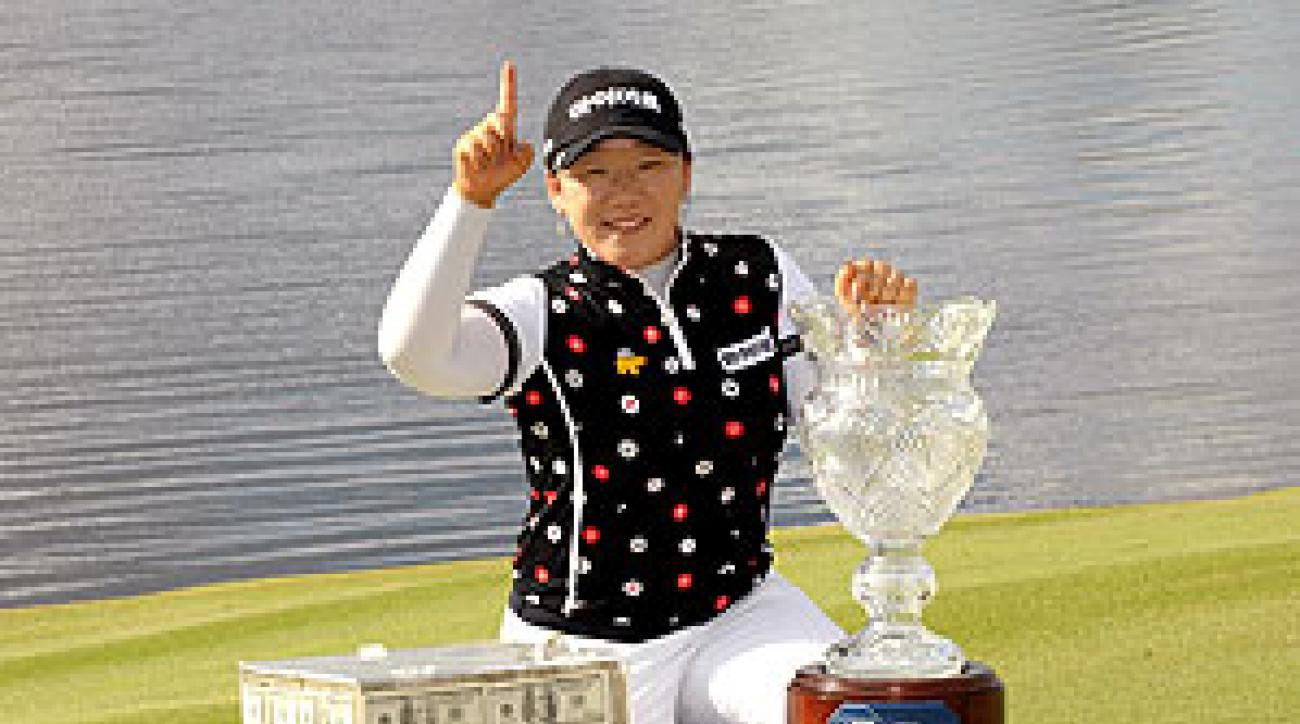 Ji-Yai Shin won three times on tour this year.