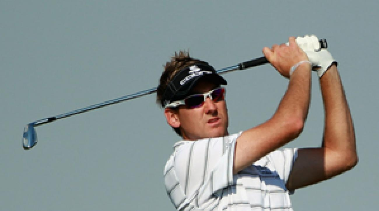 Ian Poulter has not made a bogey through two rounds.