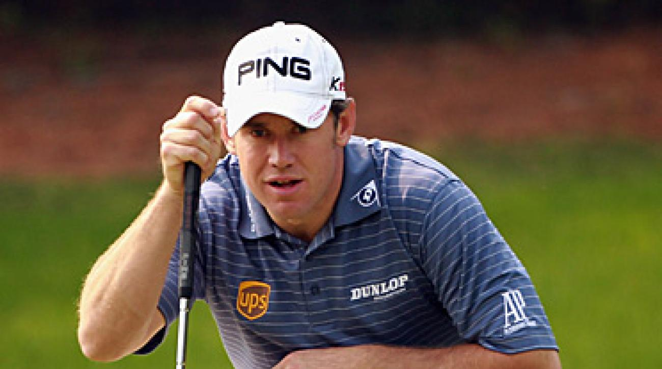 Lee Westwood is ahead of the other candidates for No. 1 and only one shot off the lead.