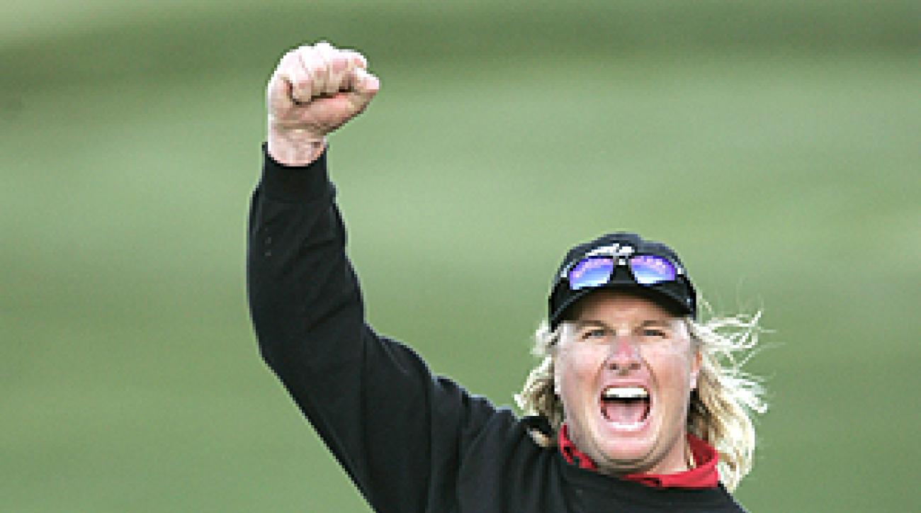 Charley Hoffman will open his title defense on Wednesday.