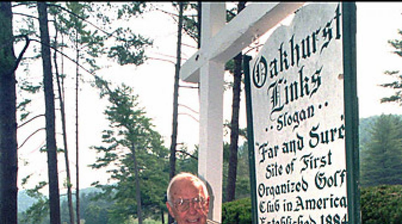 Lewis Keller, the former owner of Oakhurst Links.