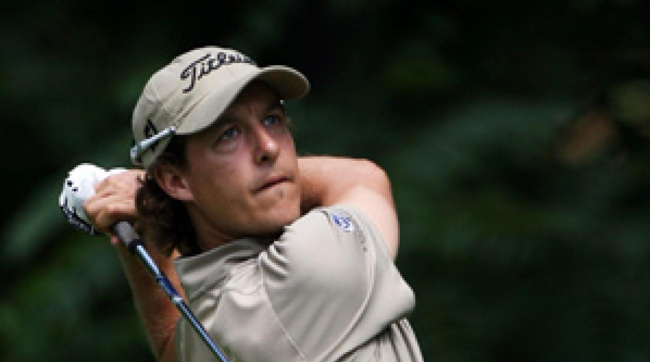 Parker McLachlin violated the PGA Tour's ban on cell phone use when he tweeted during last week's Frys.com Open.