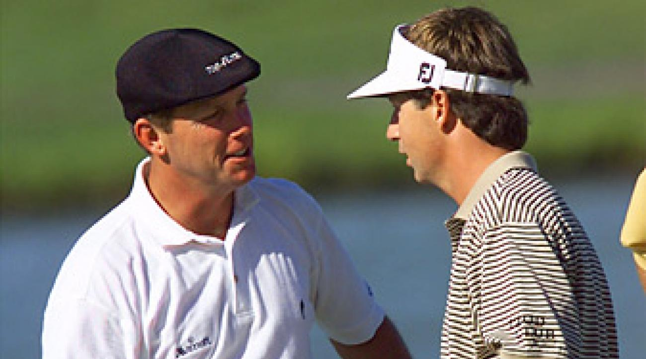 Shortly after copying one of Payne Stewart's swing moves, Brandel Chamblee beat Stewart at the 1998 Vancouver Open for his lone PGA Tour title.