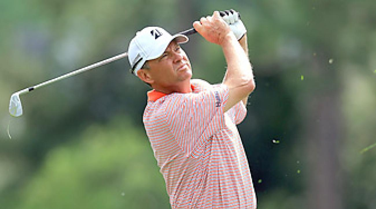 Davis Love III has not played since a cracked rib forced him to withdraw from the Arnold Palmer Invitational.