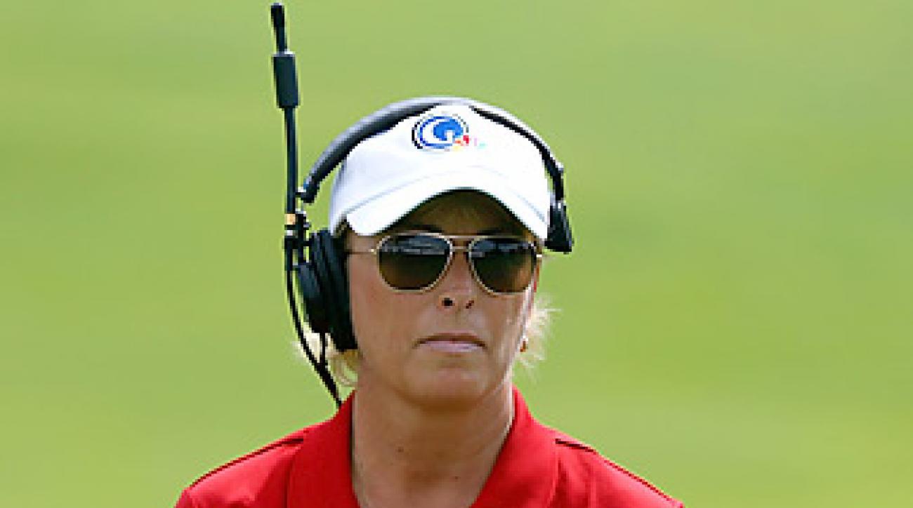 Dottie Pepper has left NBC after eight season as a golf reporter.