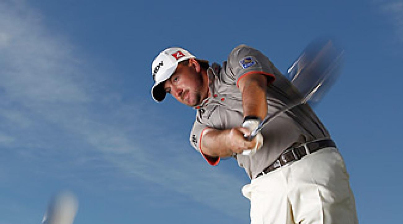 Graeme McDowell plays a Cleveland Classic 290 (9-degree) driver with a Miyazaki Kusala Indigo S6X shaft.