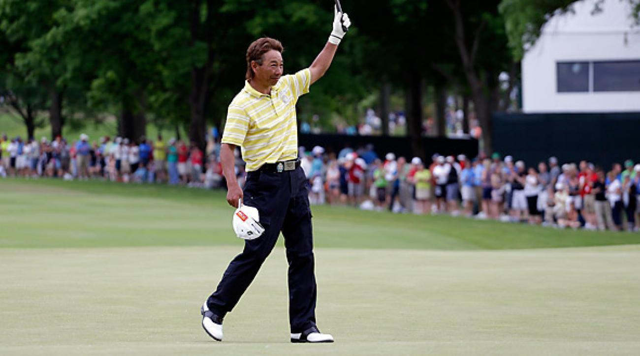 Kohki Idoki won the Senior PGA Championship in his first try.