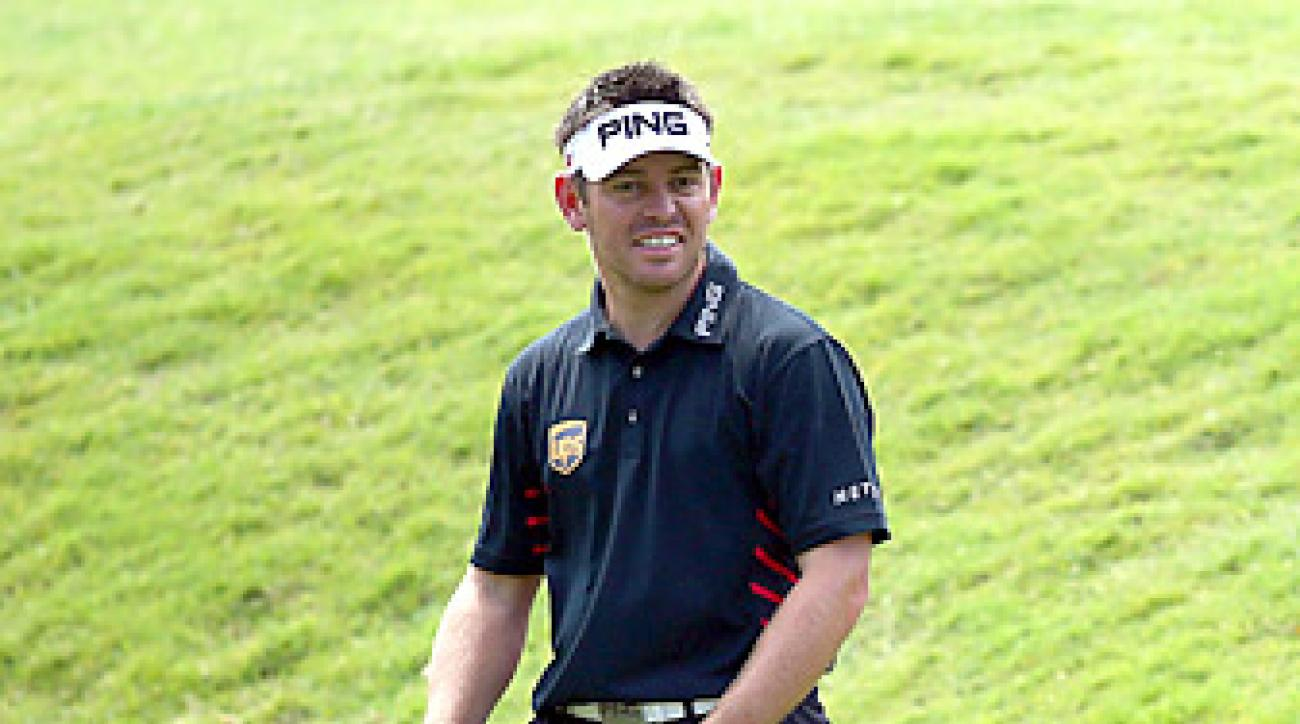 Louis Oosthuizen cited a neck injury as the cause of his withdrawal.