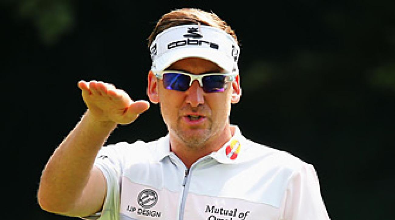 Ian Poulter is seeking his first career major title this week at Oak Hill.