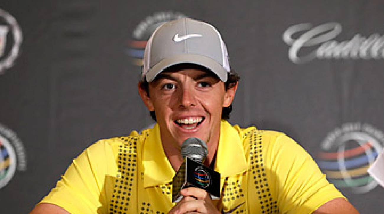Rory McIlroy addressed the media for the first time since withdrawing from the Honda Classic.