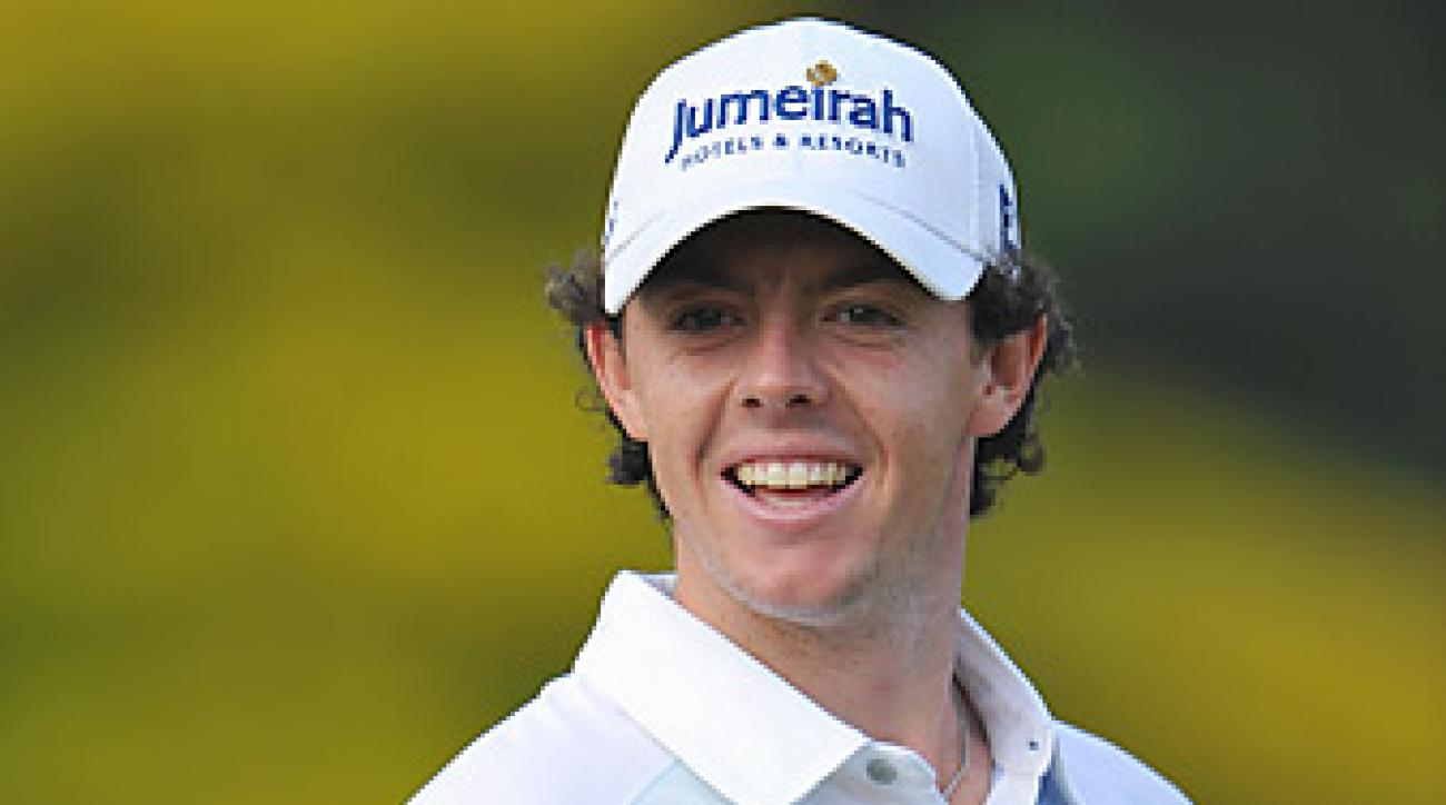 Rory McIlroy won for times on the PGA Tour this year.