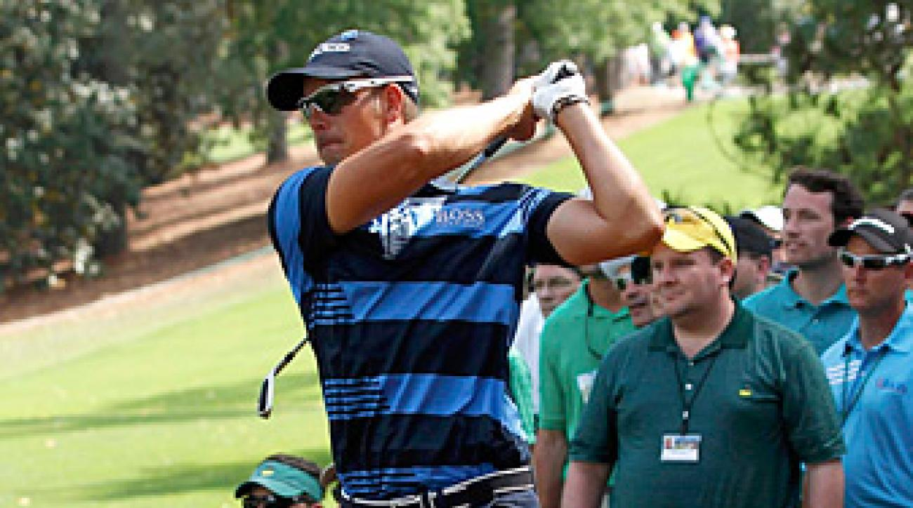 Henrik Stenson finished with a one-under 71.