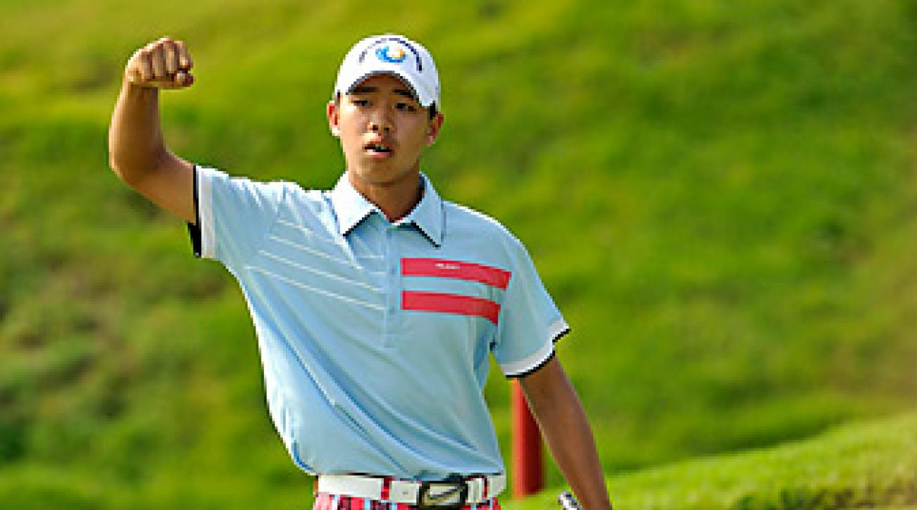 Guan Tianlang will become the youngest competitor in Masters history.