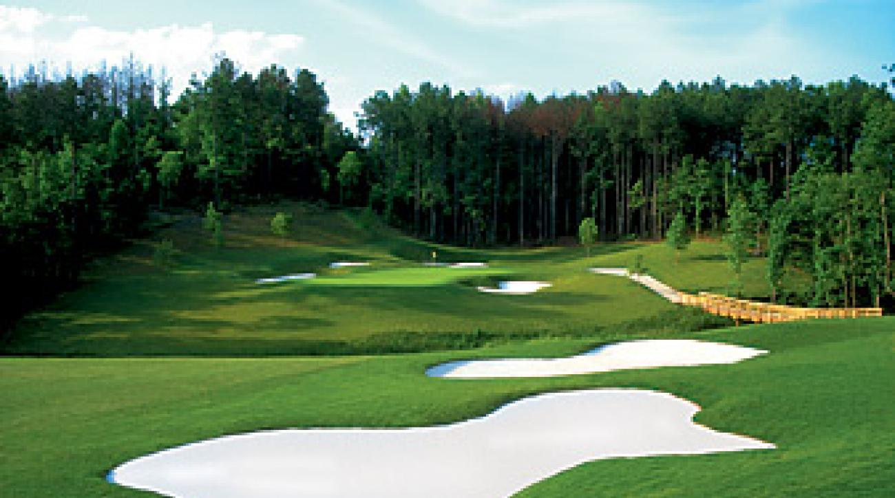 The 13th hole at Bear's Best-Atlanta.