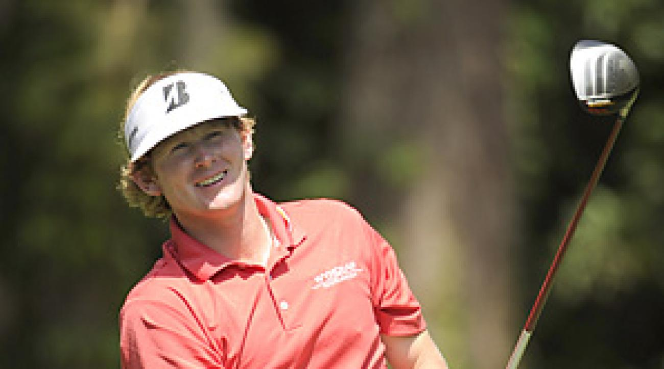 Brandt Snedeker shot a 64 on Sunday, then beat Luke Donald in a playoff.