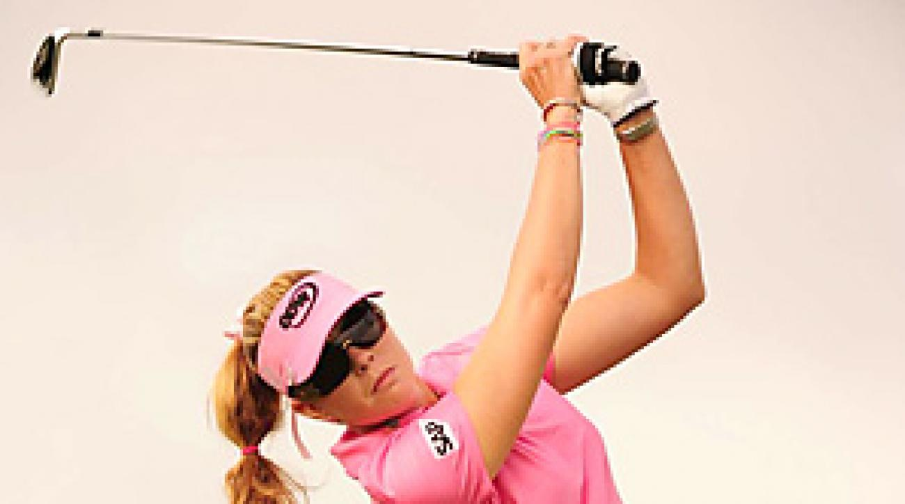 Paula Creamer won her first-career major at the Women's U.S. Open at Oakmont.