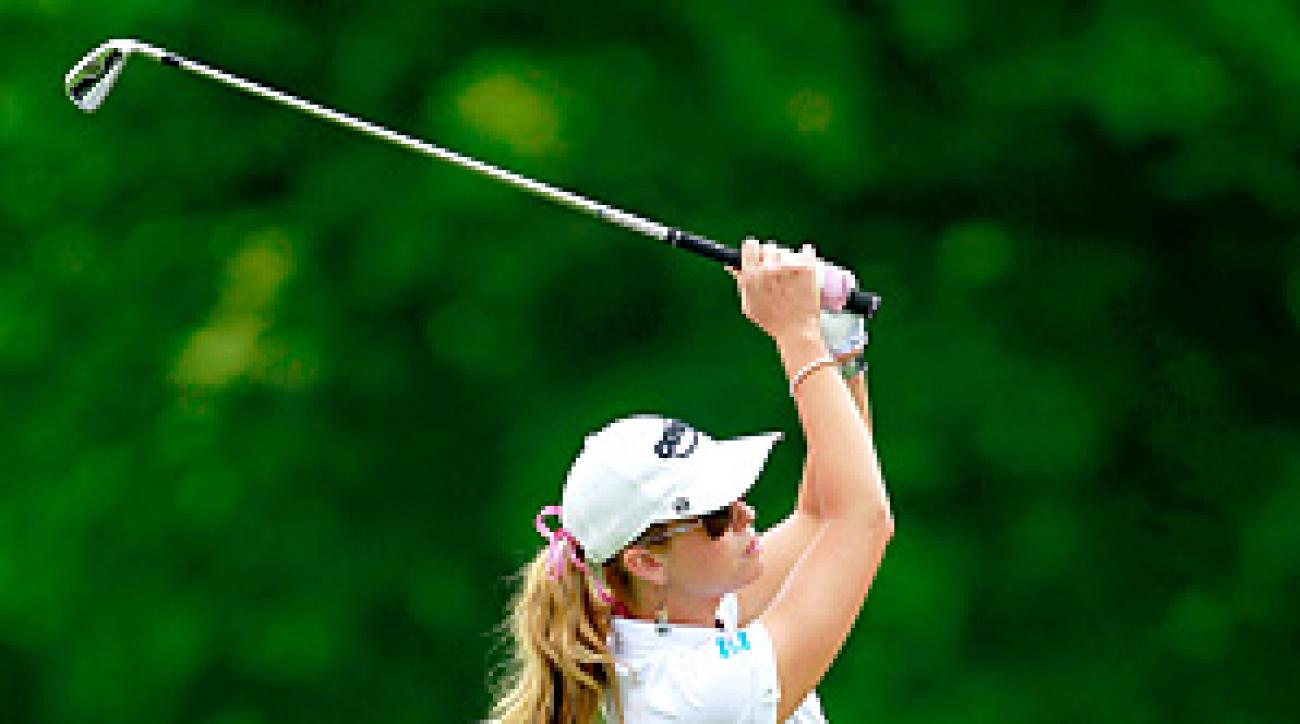 Paula Creamer won six of the first 10 holes while steamrolling Aree Song of South Korea 5 and 4.