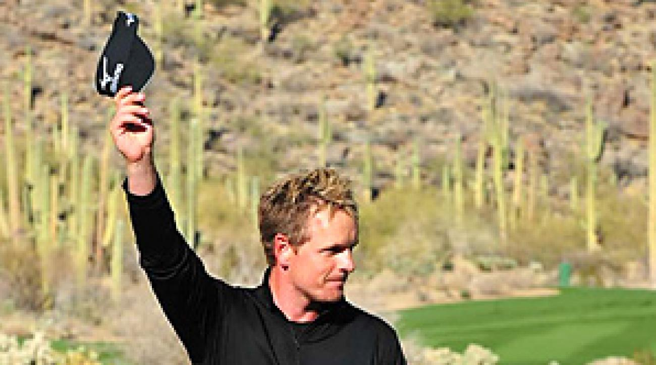 Luke Donald never trailed in any of his six matches at the Accenture Match Play.