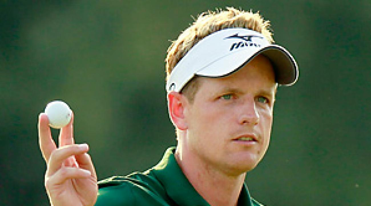 Luke Donald will make his season debut this week at Riviera.