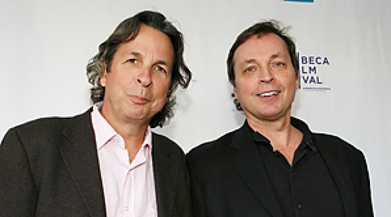 """Bobby (left) and Peter Farrelly directed """"Hall Pass,"""" which opens Friday."""