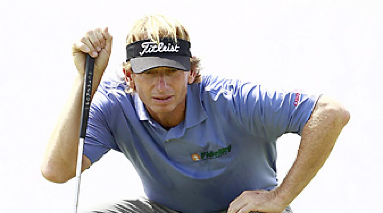 Brad Faxon earned his first career Champions Tour victory at the Insperity Championship.