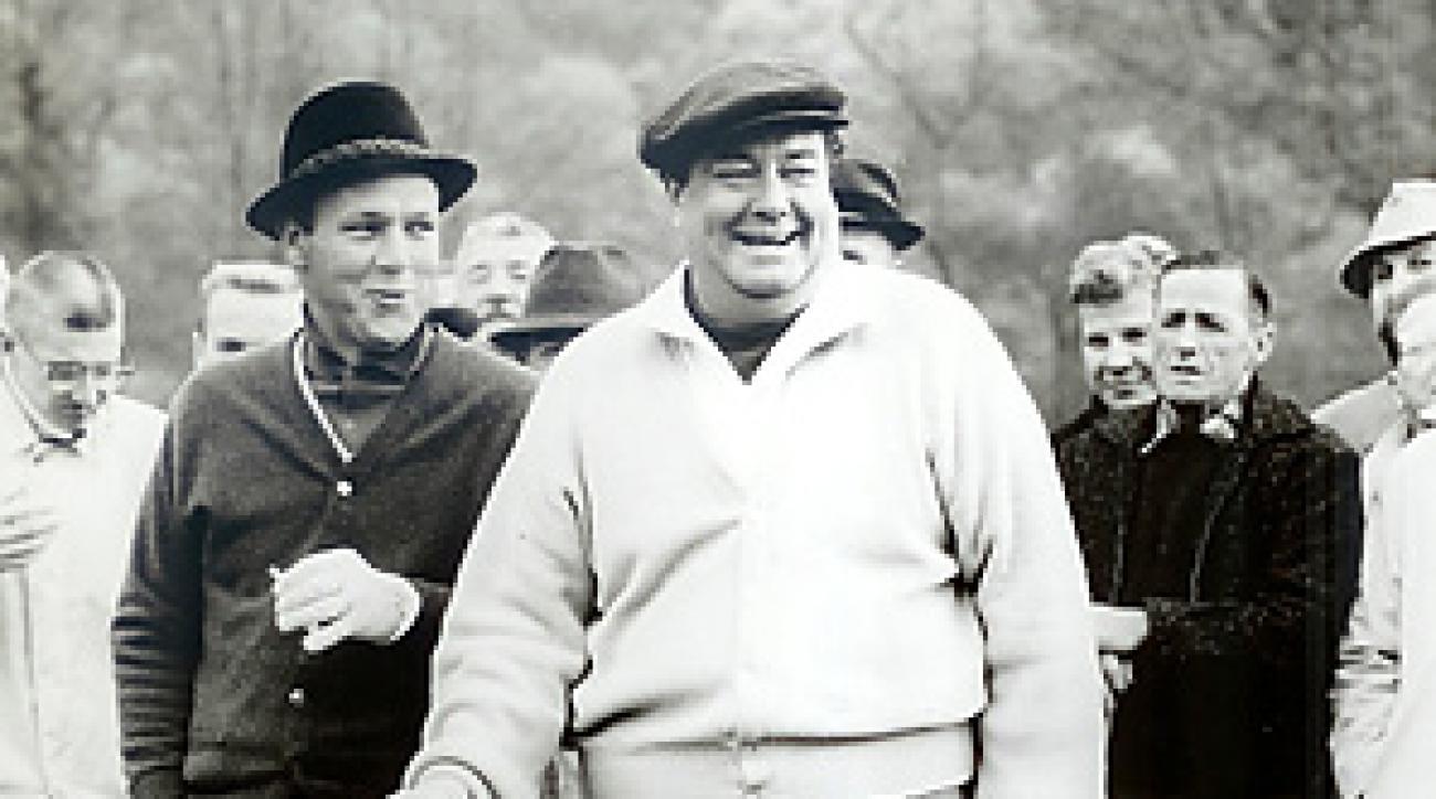 Arnold Palmer was one of Jackie Gleason's many golf buddies.