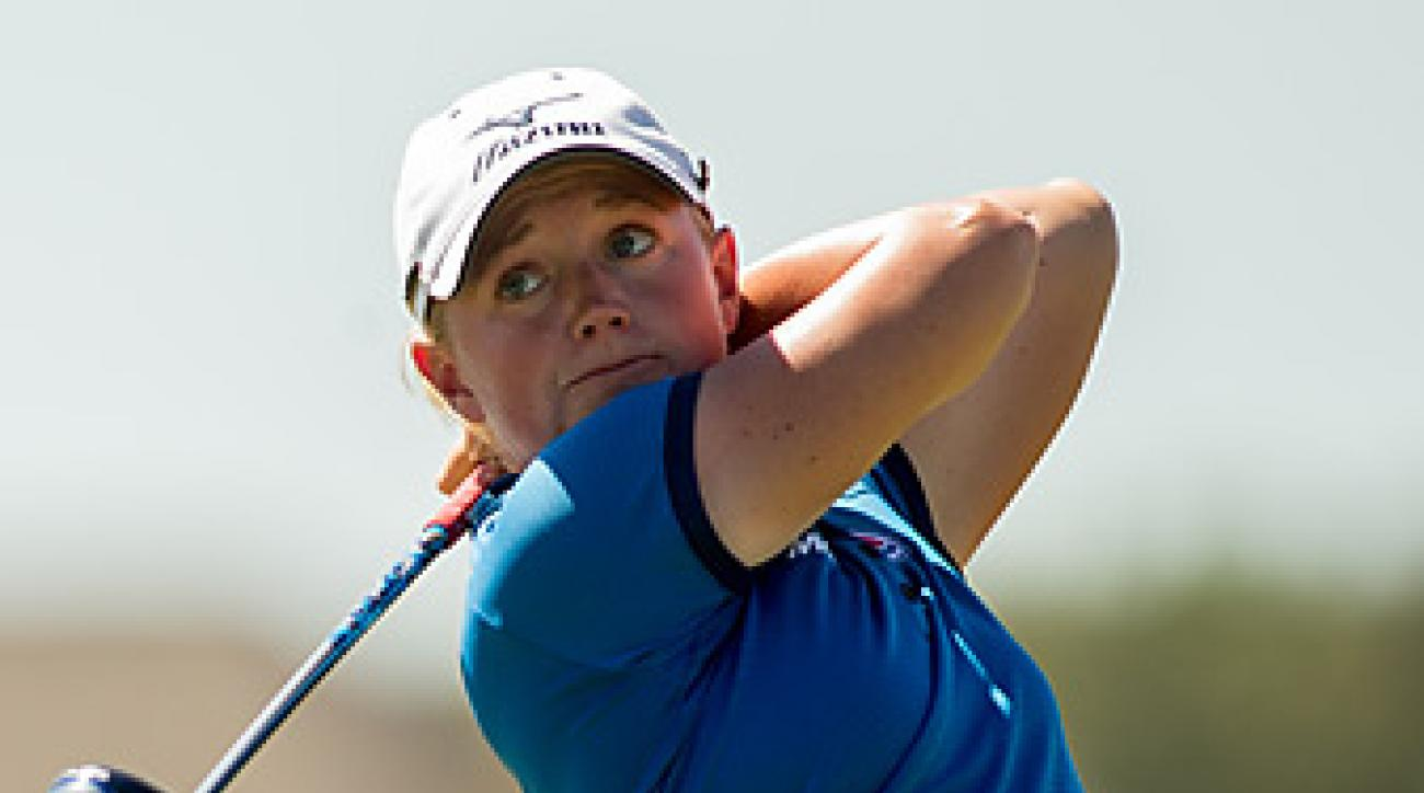 Stacy Lewis won for the third time in five months.
