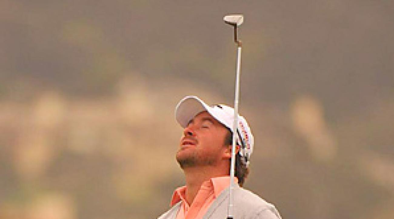 McDowell won his first career major at the 2010 U.S. Open at Pebble Beach.