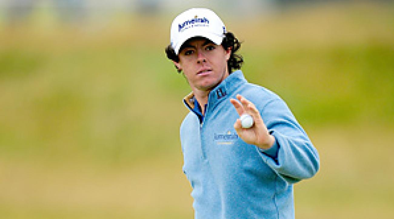Rory McIlroy is one of several European players in the field who could benefit from bad weather.