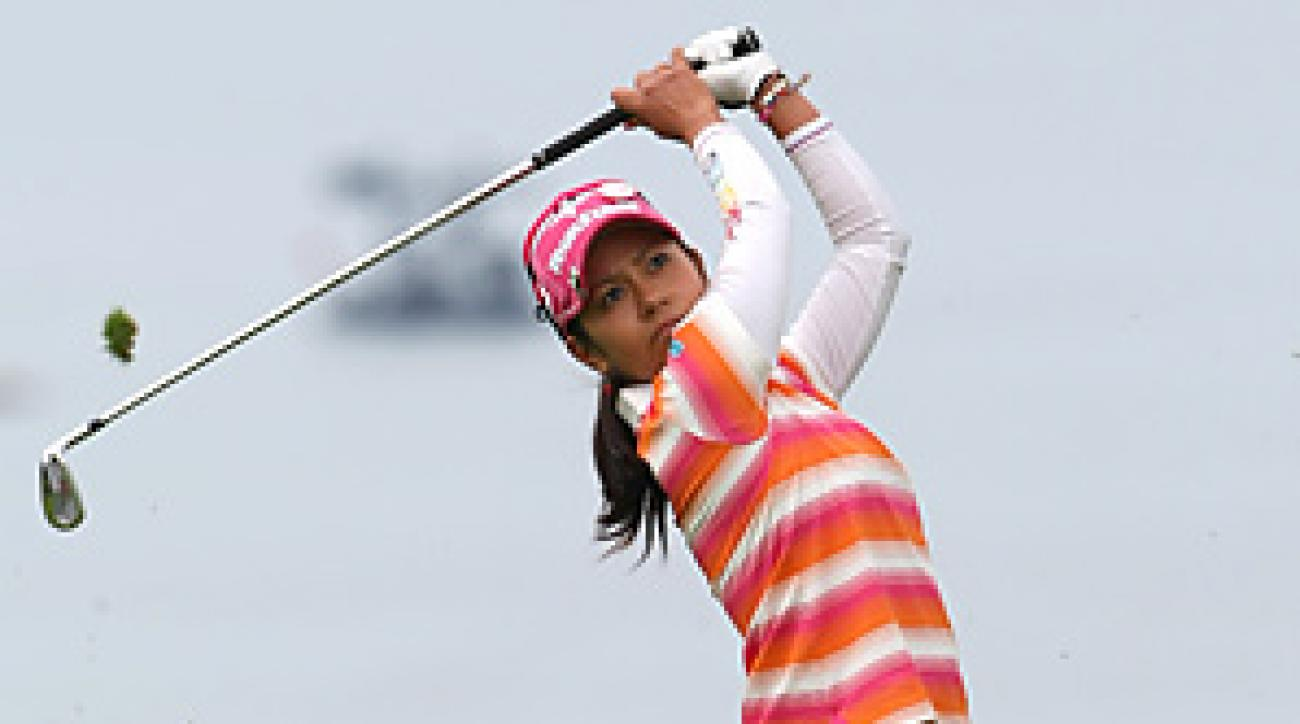 Ai Miyazato won the Evian Masters for her first title of the season.