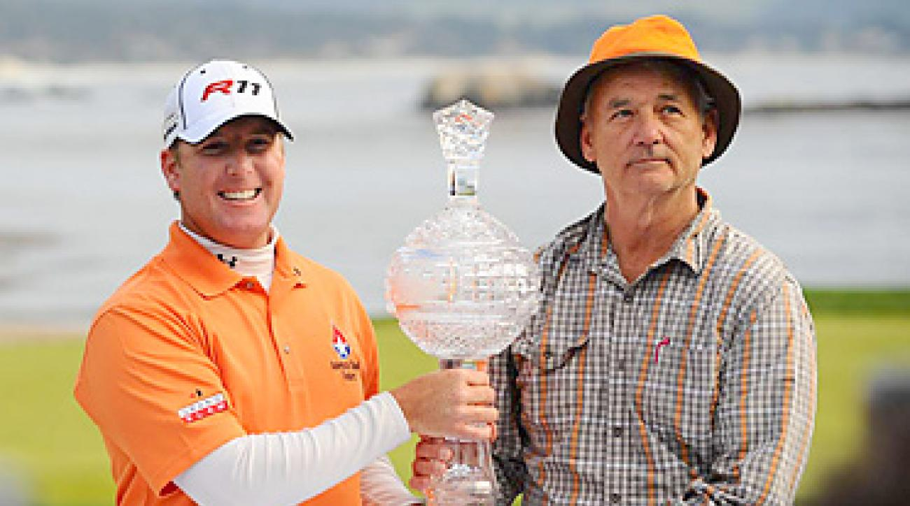 D.A. Points and Bill Murray won the team competition at the Pebble Beach National Pro-Am.