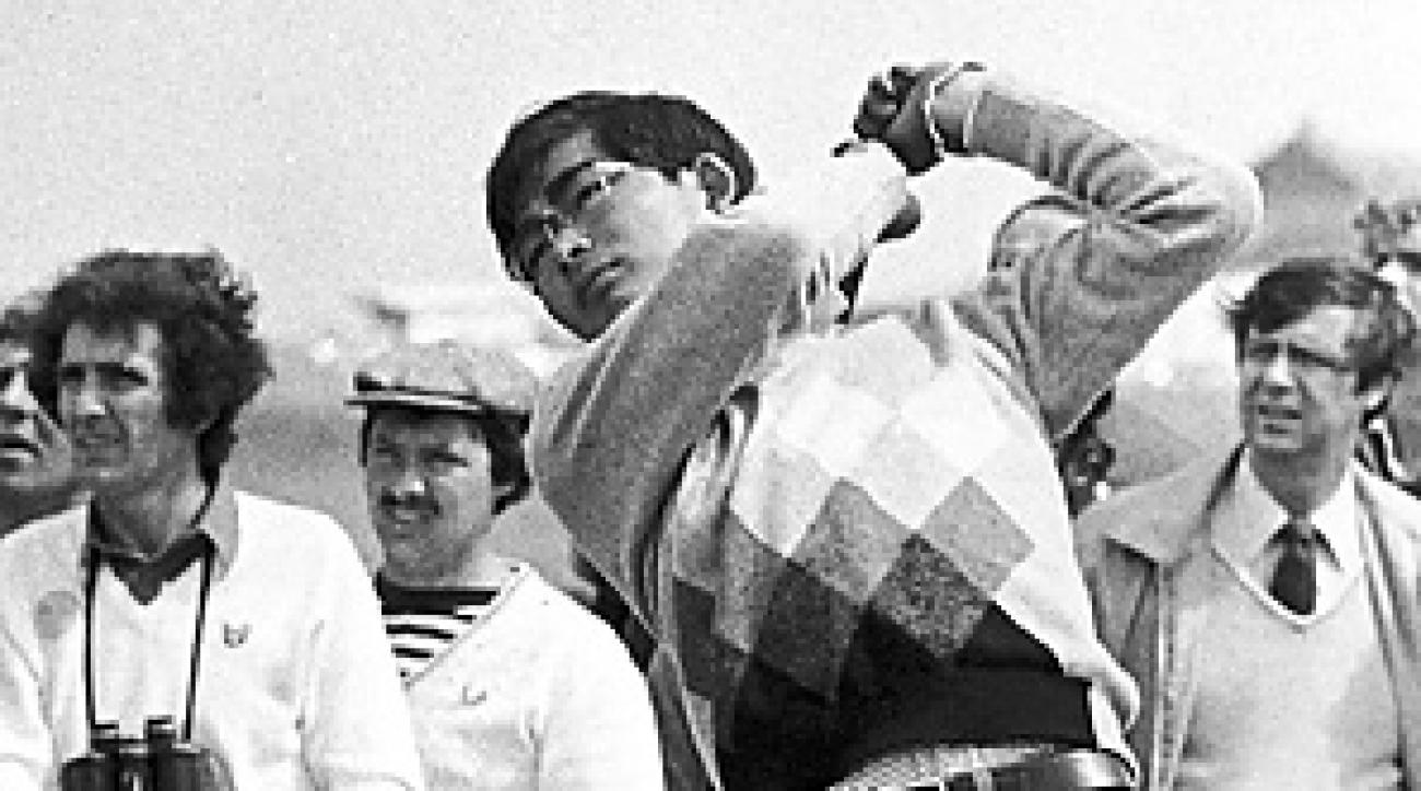 Tommy Nakajima was a surprise contender at the 1978 British Open until the Road Hole ended his hopes.