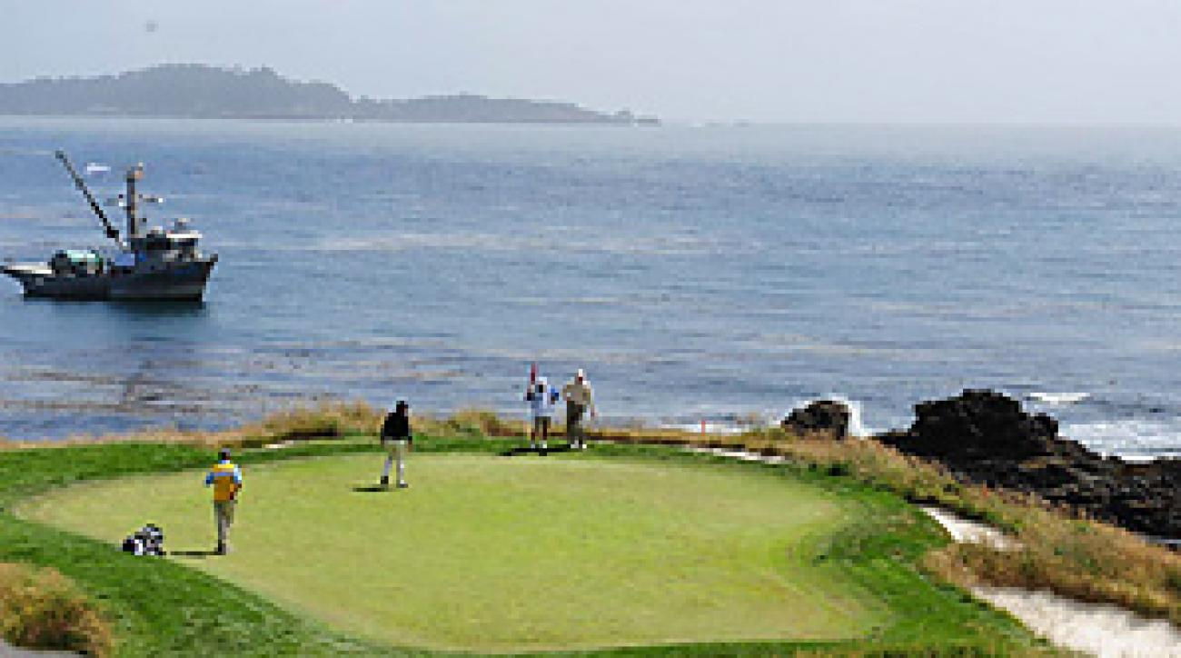 This week Pebble Beach will once again host the First Tee Open.