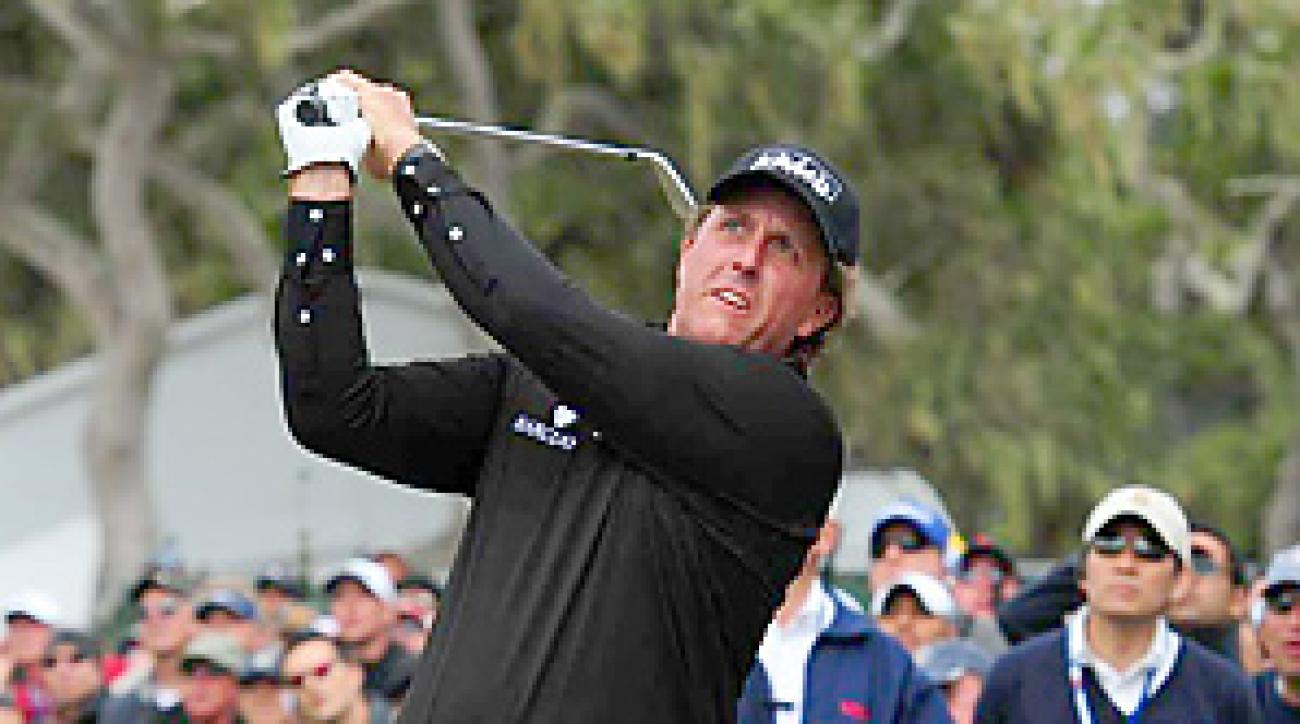 Phil Mickelson will make his season debut this week in Abu Dhabi.