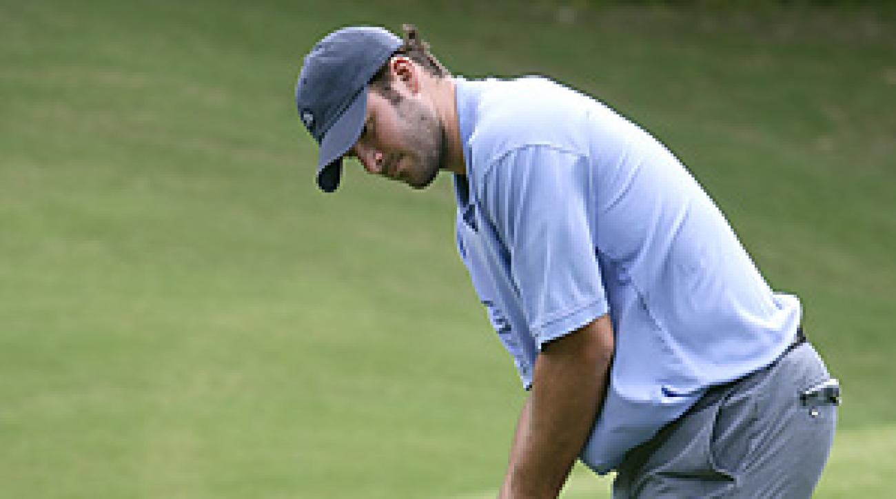 Tony Romo attempted to qualify for the 2010 U.S. Open.