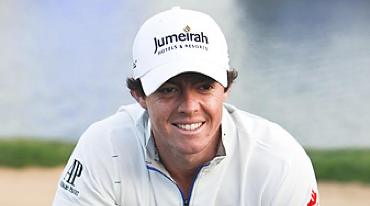 Rory McIlroy holed a 2-foot putt for victory after Anthony Kim missed a 3-footer on the first hole of sudden death.