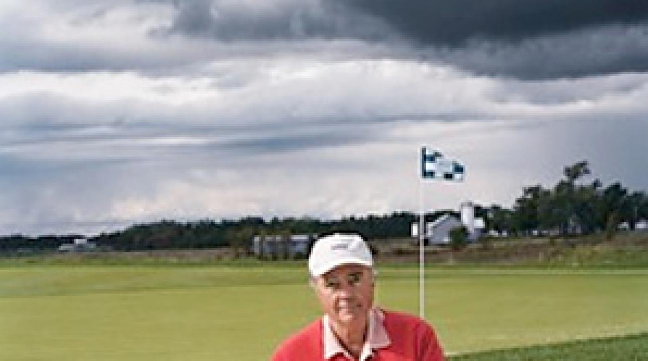 Robert Trent Jones Jr. has designed courses for more than 40 years.