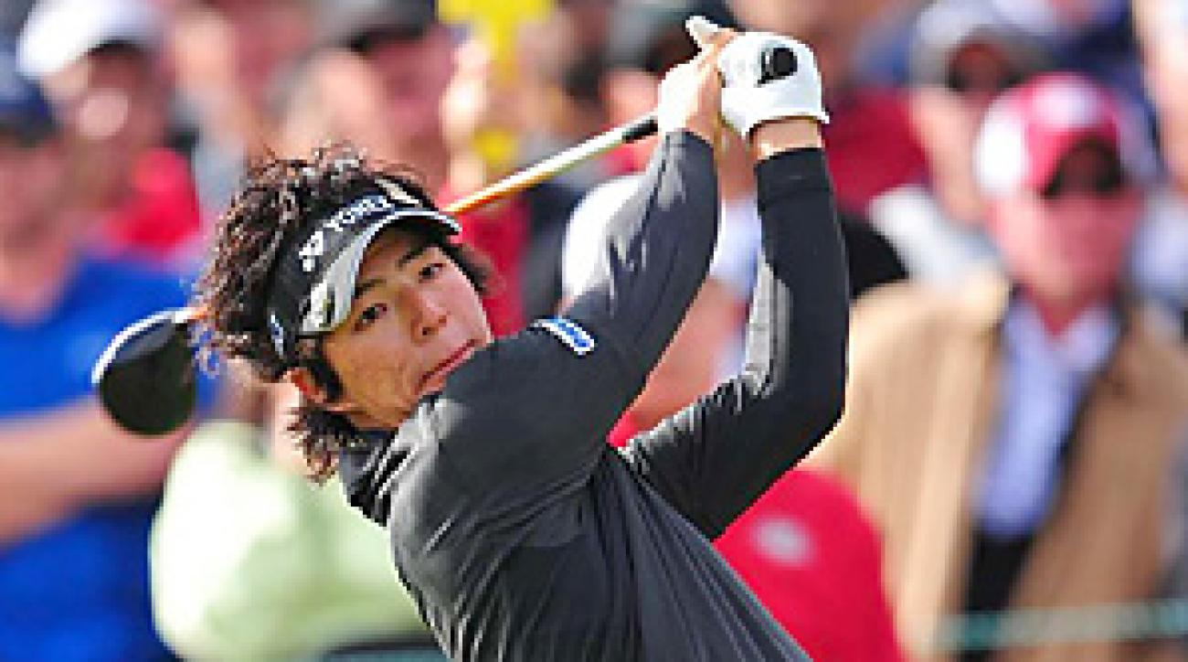 Ryo Ishikawa finished tied for 33rd, but he entered the weekend at Pebble Beach in contention.