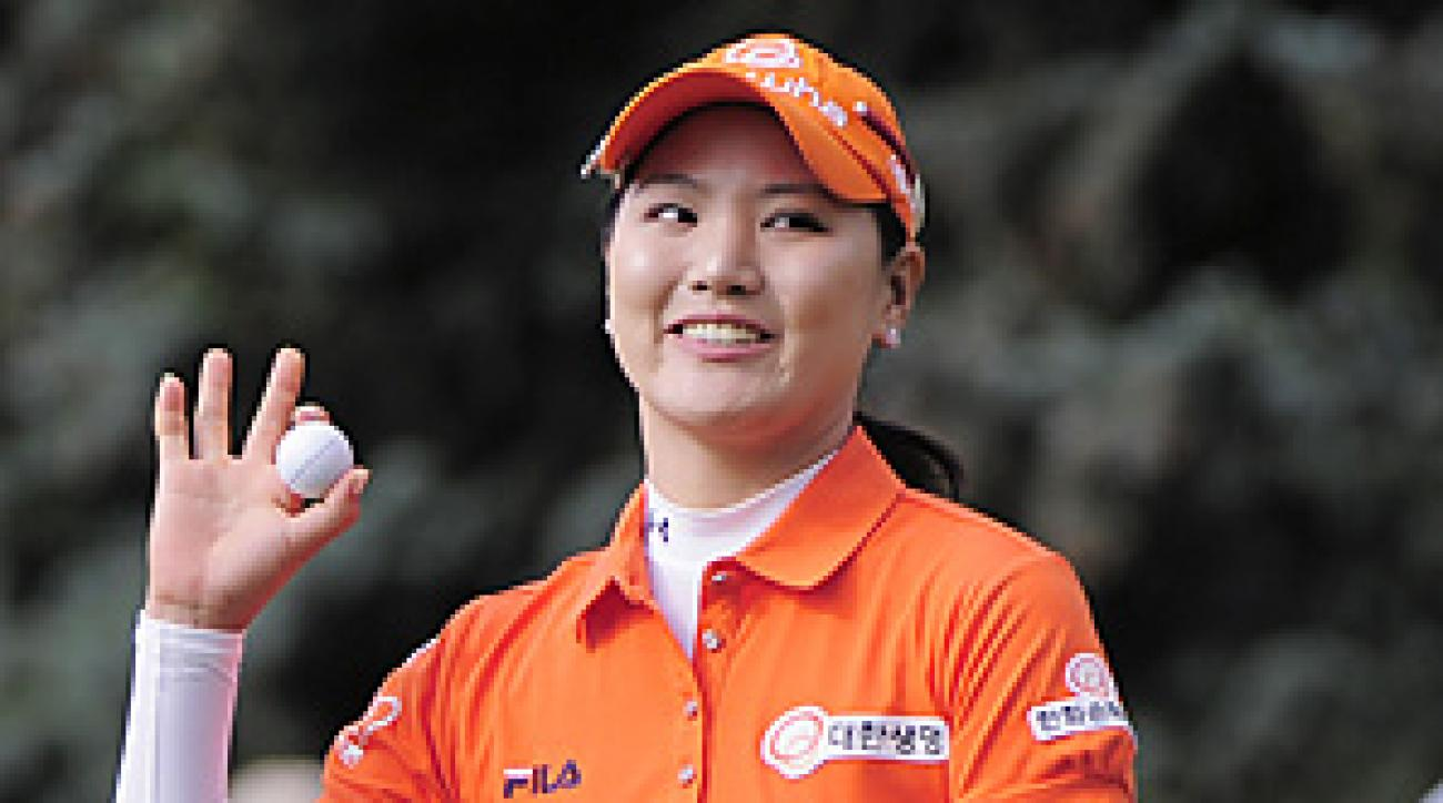 So Yeon Ryu won the U.S. Women's Open in a three-hole playoff on Monday.