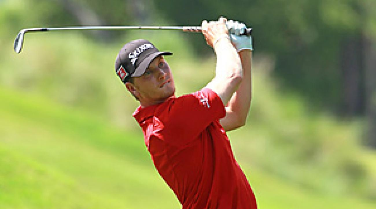 Chris Stroud shot a 68 in the final round at the Players Championship.