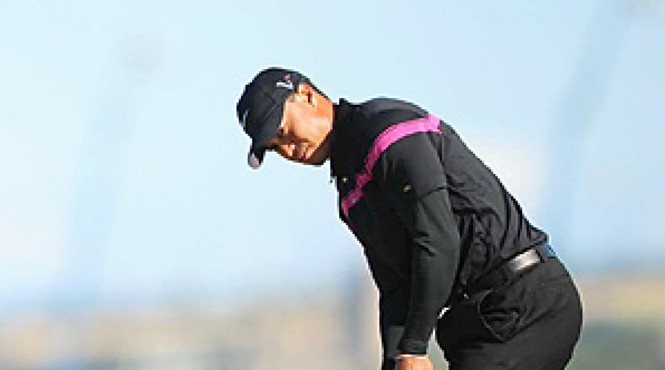 Tiger Woods switched putters for three rounds at St. Andrews, but his stroke may have been the source of his problems on the greens.