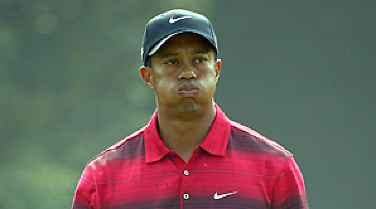 Despite finishing 12 shots off the lead, Tiger Woods drew the biggest crowds on Sunday in Shanghai.