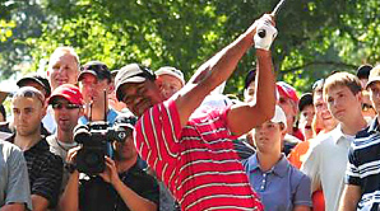 With two events remaining before the FedEx Cup playoffs, Tiger Woods is not guaranteed of qualifying for the opening event.